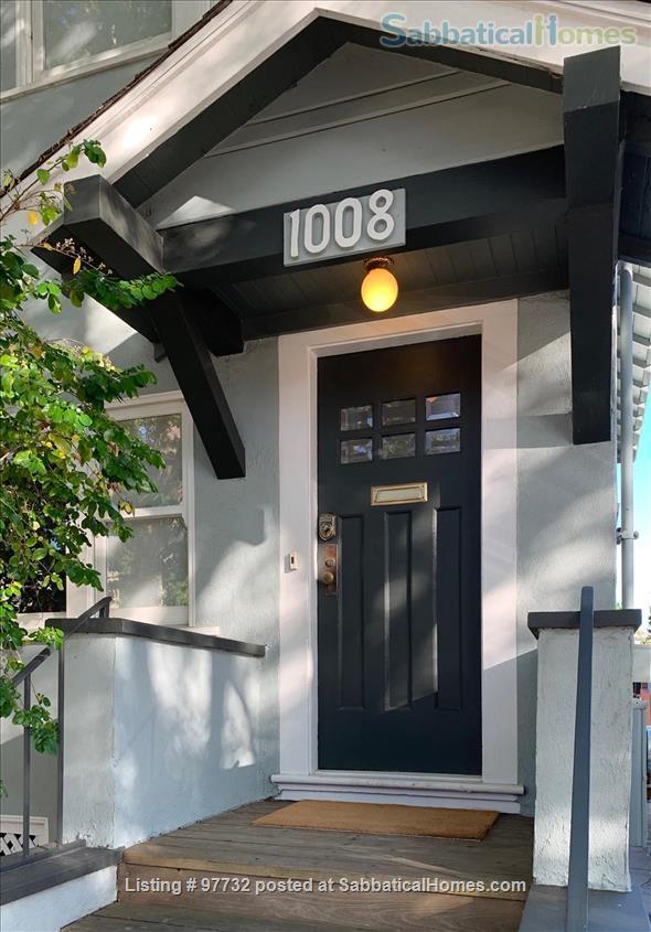 Sunny, Furnished Flat (2 Bedrooms + Office) incl fast internet & utilities Home Rental in Berkeley, California, United States 9