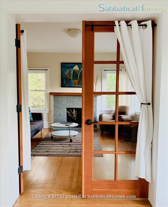 Sunny, Furnished Flat (2 Bedrooms + Office) incl fast internet & utilities Home Rental in Berkeley, California, United States 2