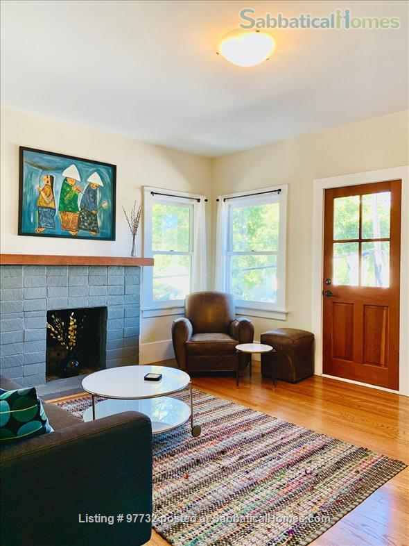Sunny, Furnished Flat (2 Bedrooms + Office) incl fast internet & utilities Home Rental in Berkeley, California, United States 4