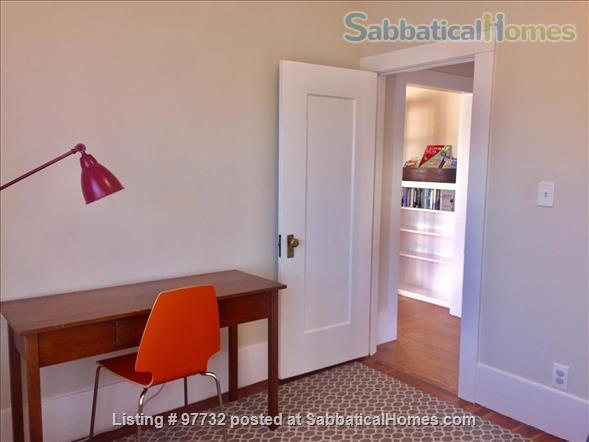 Sunny, Furnished Flat (2 Bedrooms + Office) incl fast internet & utilities Home Rental in Berkeley, California, United States 8