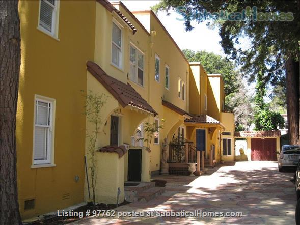 Beautiful Northside Mediterranean Townhome - 2 BR, 3 BA - Work/Study/Teach from Home! Home Rental in Berkeley, California, United States 1
