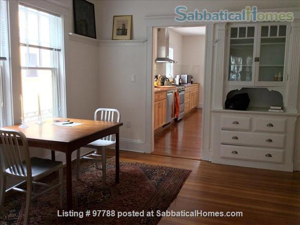 Lovely Furnished West Cambridge  Two Bedroom ( utilities included) Home Rental in Cambridge, Massachusetts, United States 2