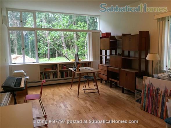 Midcentury Modern 3BR home -academic year rental Home Rental in Lexington, Massachusetts, United States 9