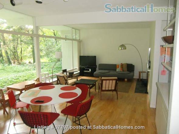 Midcentury Modern 3BR home -academic year rental Home Rental in Lexington, Massachusetts, United States 1