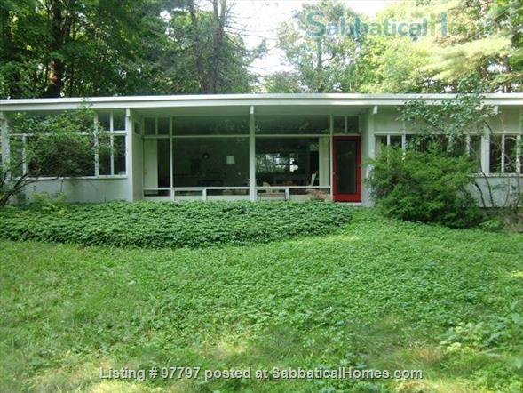 Midcentury Modern 3BR home -academic year rental Home Rental in Lexington, Massachusetts, United States 0