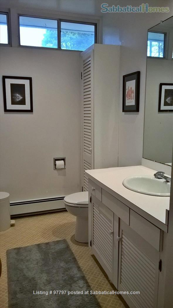 Midcentury Modern 3BR home -academic year rental Home Rental in Lexington, Massachusetts, United States 2