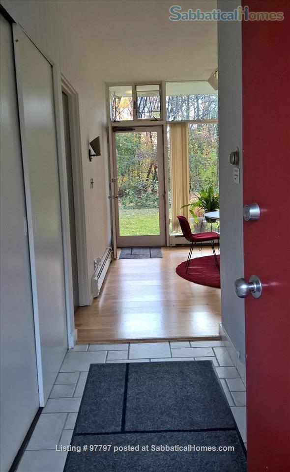 Midcentury Modern 3BR home -academic year rental Home Rental in Lexington, Massachusetts, United States 3