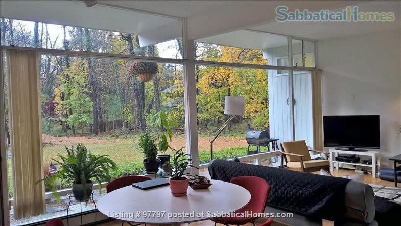 Midcentury Modern 3BR home -academic year rental Home Rental in Lexington, Massachusetts, United States 4