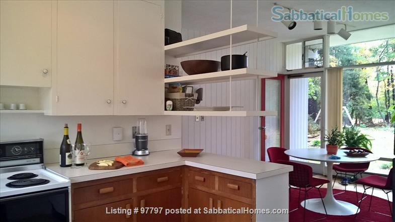 Midcentury Modern 3BR home -academic year rental Home Rental in Lexington, Massachusetts, United States 6