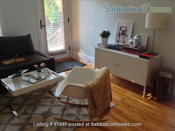 Lovely 1 BR apt in the Plateau/Parc La Fontaine  Home Rental in Montreal, Quebec, Canada 2