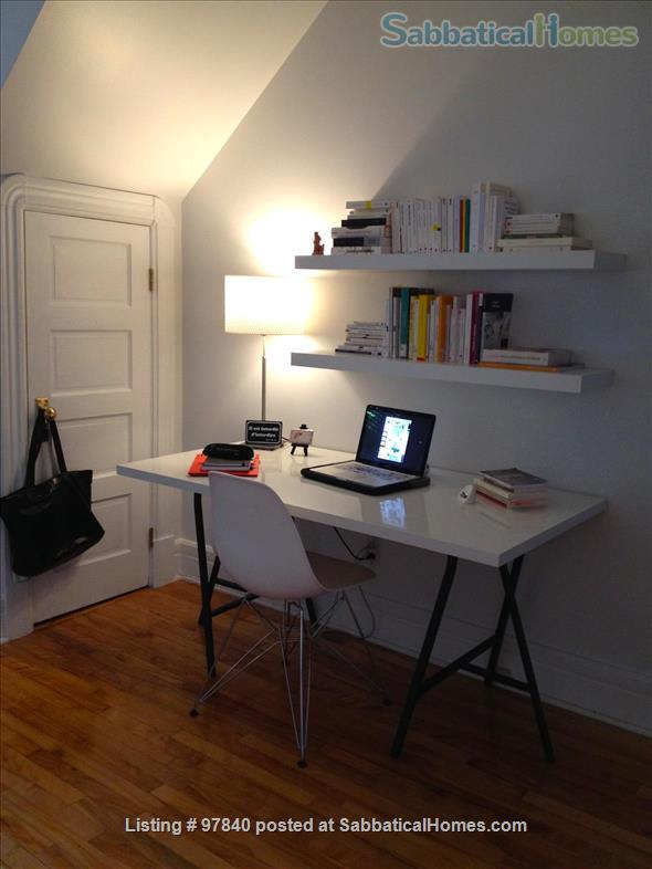 Lovely 1 BR apt in the Plateau/Parc La Fontaine  Home Rental in Montreal, Quebec, Canada 4