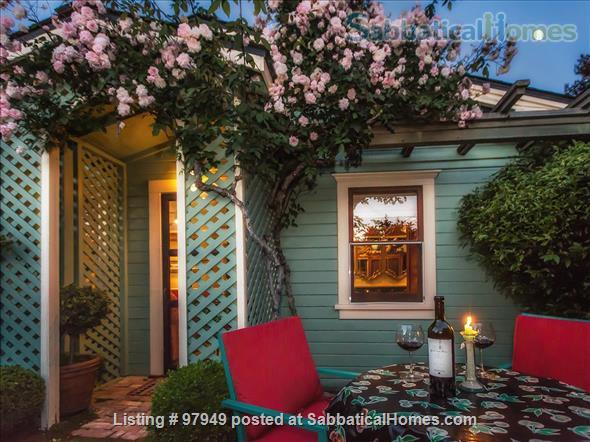 A Bird Song Cottage Luxurious Art and Garden Experince Home Rental in Santa Cruz, California, United States 1