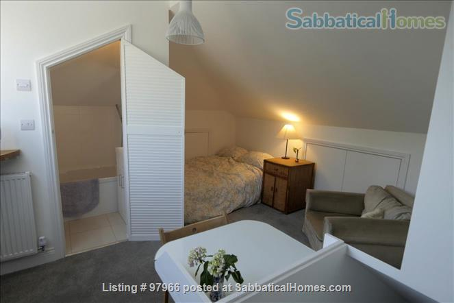 Sunny Attic Room with Ensuite in Newly Refurbished Flat Home Rental in Greater London, England, United Kingdom 1