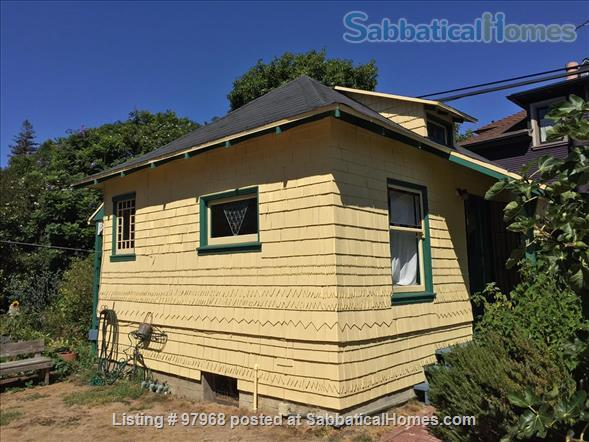 Cheery, tranquil, garden cottage in Berkeley, 7 minute walk to West edge of Campus Home Rental in Berkeley, California, United States 1