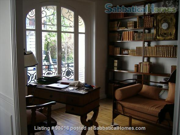 Parisian charm of a 3-room flat in front of the Buttes Chaumont Park Home Rental in Paris, Île-de-France, France 2