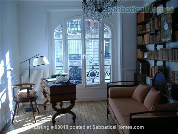 Parisian charm of a 3-room flat in front of the Buttes Chaumont Park Home Rental in Paris, Île-de-France, France 4