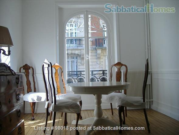 Parisian charm of a 3-room flat in front of the Buttes Chaumont Park Home Rental in Paris, Île-de-France, France 5