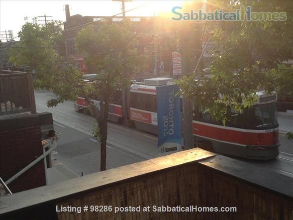 Lovely spacious Leslieville home.           Self contained Apartment  Home Rental in Toronto, Ontario, Canada 5