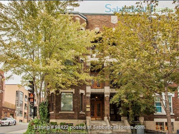 Beautiful fully furnished 3 BR condo in Montreal (Plateau) Home Rental in Montreal, Quebec, Canada 9