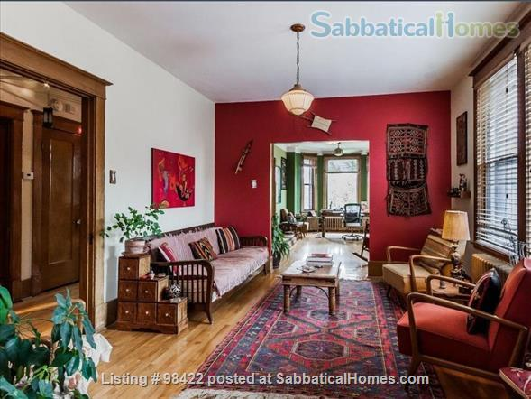 Beautiful fully furnished 3 BR condo in Montreal (Plateau) Home Rental in Montreal, Quebec, Canada 1