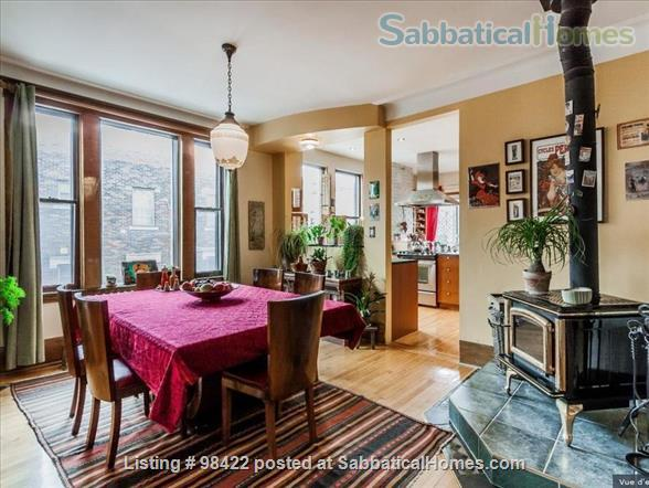 Beautiful fully furnished 3 BR condo in Montreal (Plateau) Home Rental in Montreal, Quebec, Canada 0