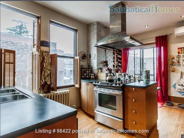 Beautiful fully furnished 3 BR condo in Montreal (Plateau) Home Rental in Montreal, Quebec, Canada 3