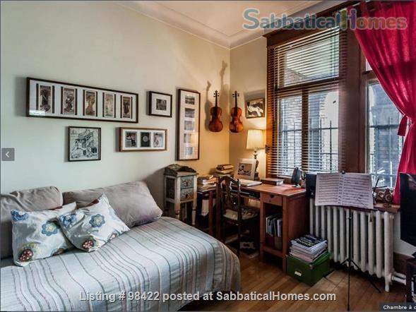 Beautiful fully furnished 3 BR condo in Montreal (Plateau) Home Rental in Montreal, Quebec, Canada 6