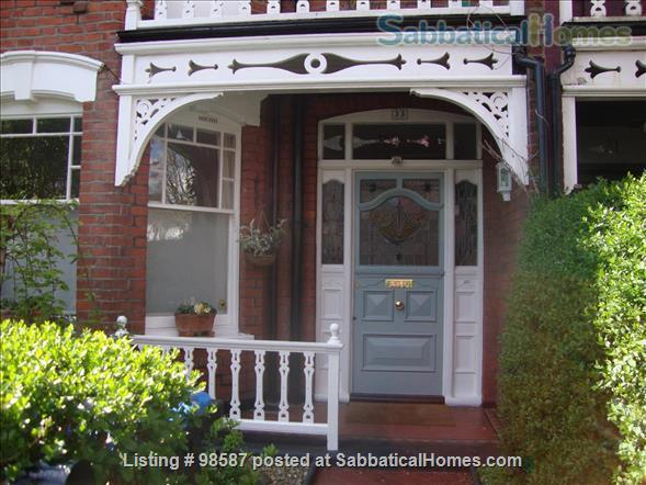 Ensuite room in lovely  Edwardian house, NW London Home Rental in Greater London, England, United Kingdom 1