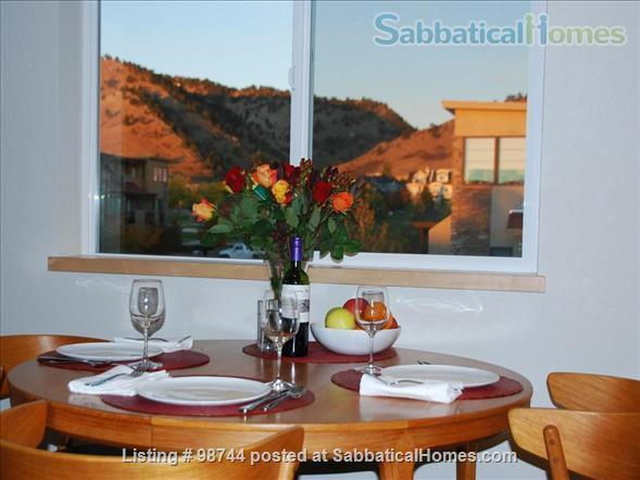 ALL NEW.  Gorgeous, fully-furnished 2-bedroom Condo in North Boulder Home Rental in Boulder, Colorado, United States 0