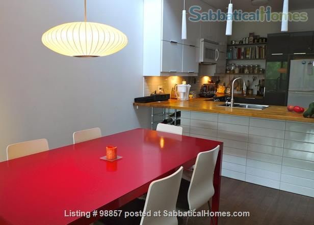 Sunny two-story condo with two private roof terrasses  Home Rental in Montréal, Québec, Canada 0