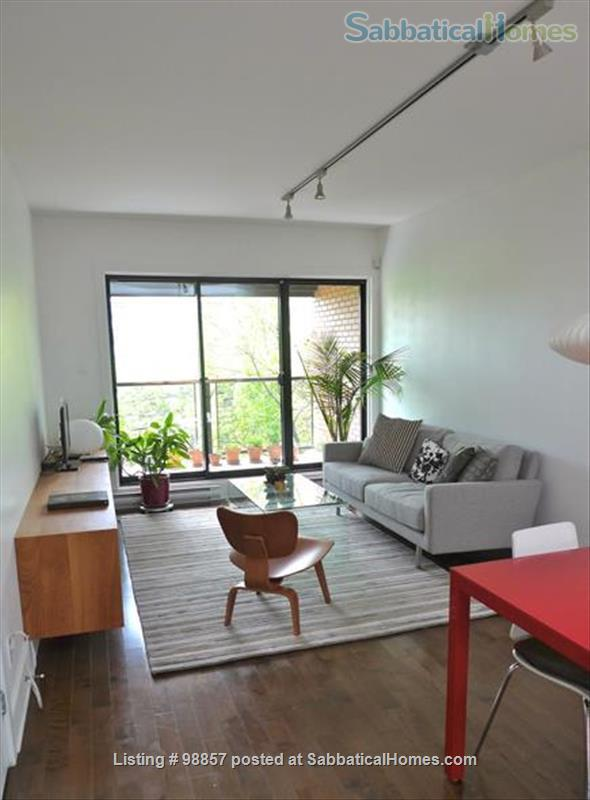 Sunny two-story condo with two private roof terrasses  Home Rental in Montréal, Québec, Canada 2
