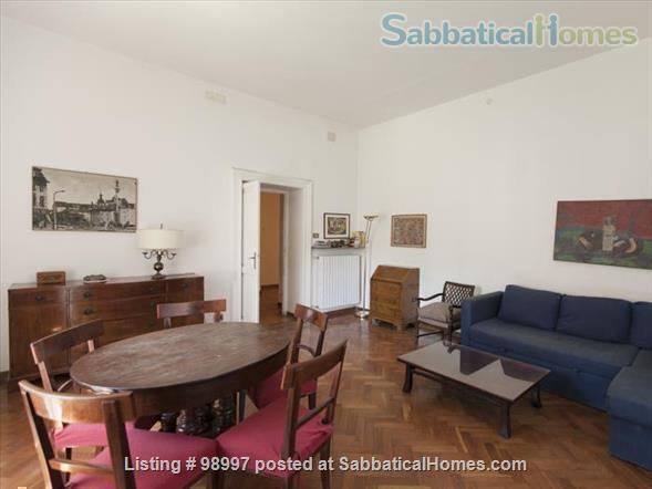 Trastevere flat and garden Home Rental in Rome, Lazio, Italy 1