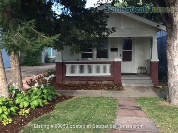 Charming Central/Downtown Boulder House Home Rental in Boulder, Colorado, United States 0