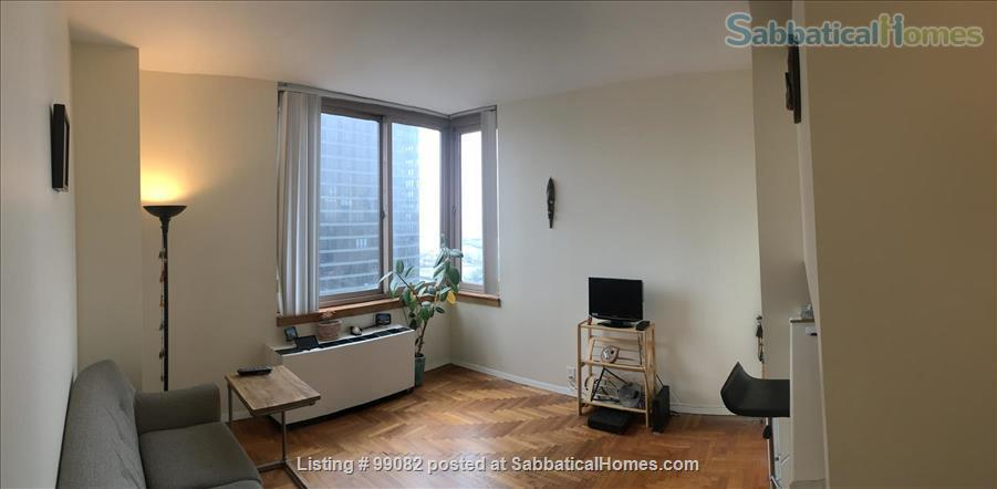 Furnished, 1- Bedroom Apt, 27th Fl Luxury, Manhattan, East 72nd St; $2650/m Home Rental in New York, New York, United States 0