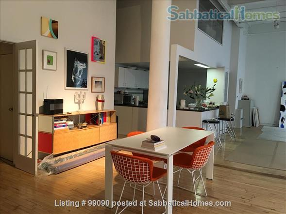 Beautiful Artist's loft in Soho, NYC  Home Exchange in New York, New York, United States 2