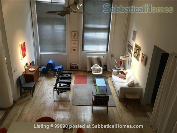 Beautiful Artist's loft in Soho, NYC  Home Exchange in New York, New York, United States 7