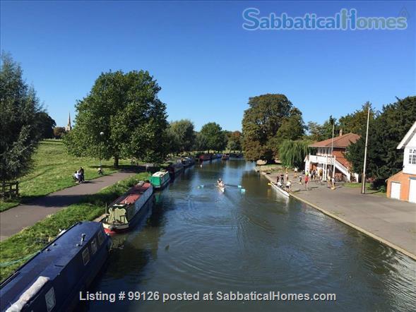 Riverside in the heart of Cambridge city center Home Rental in Cambridge, England, United Kingdom 1