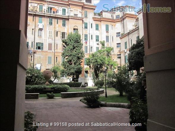 Rome Testaccio – A quiet and bright retreat in the heart of Rome Home Rental in Roma, Lazio, Italy 0