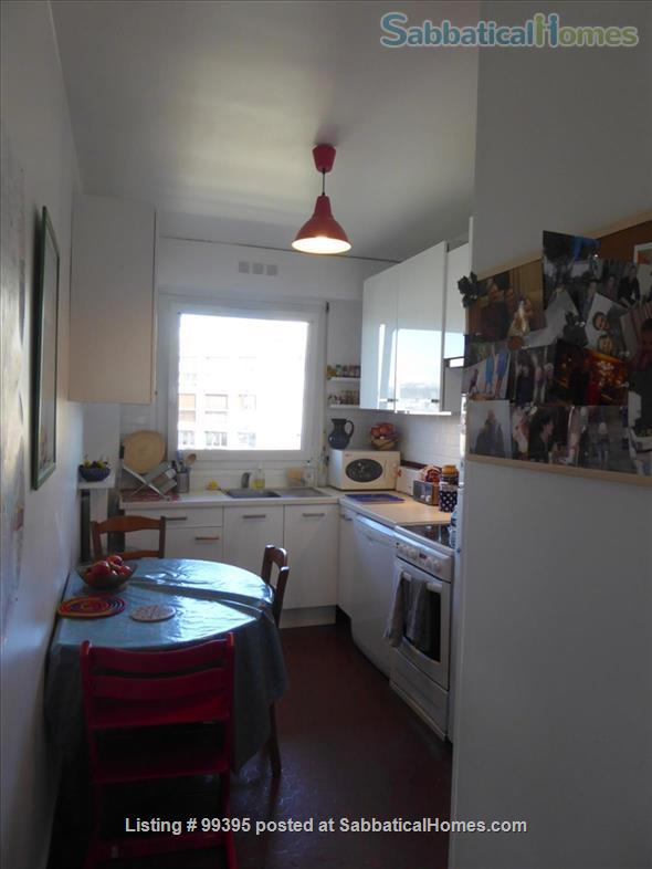 Sunny flat with a fantastic panoramic view over Paris, 2 bedrooms and 1 large living room Home Rental in Paris, IDF, France 9