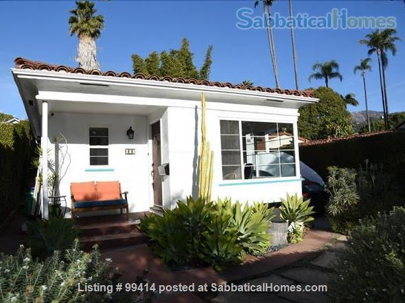 Best Deal in the Heart of Downtown SB - furnished duplex Home Rental in Santa Barbara, California, United States 1