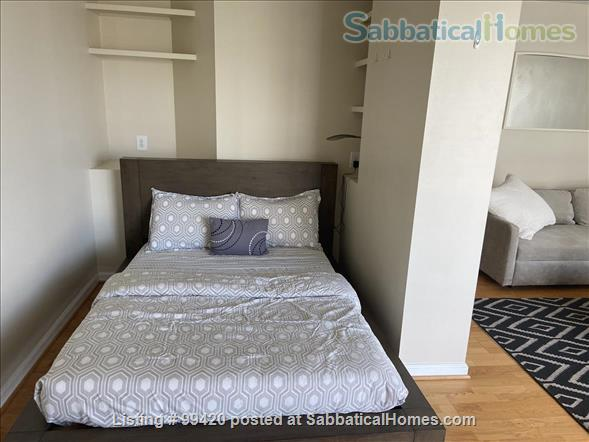 Light-filled Dupont Studio (all utilities/FIOS internet included) Home Rental in Washington, District of Columbia, United States 6