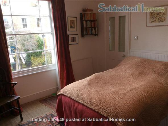 Peaceful, spacious Georgian house  in pretty conservation area Home Rental in Greater London, England, United Kingdom 4