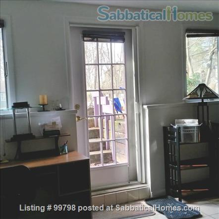 Fully furn. with fireplace, 1 BR apt., all utilities included, wifi, garden, patio, parking, firepit, near CU & shopping, on bus line, NO PETS, NO SMOKING Home Rental in Ithaca 8