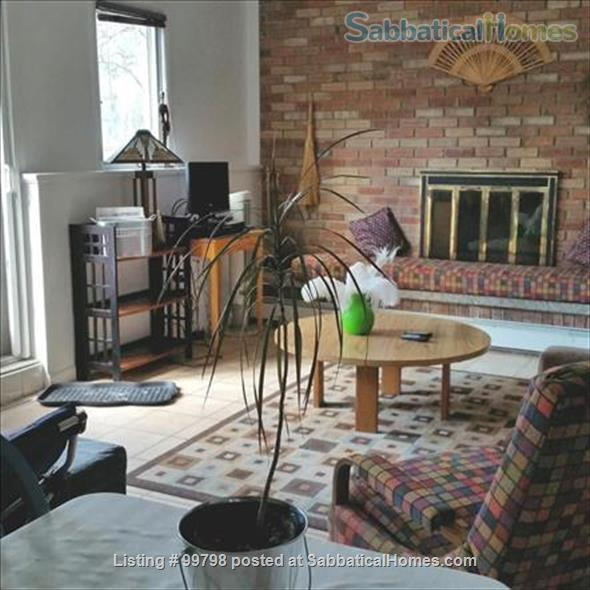 Fully furn. with fireplace, 1 BR apt., all utilities included, wifi, garden, patio, parking, firepit, near CU & shopping, on bus line, NO PETS, NO SMOKING Home Rental in Ithaca 0