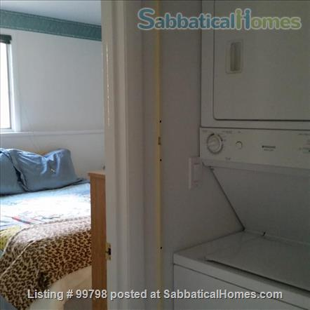 Fully furn. with fireplace, 1 BR apt., all utilities included, wifi, garden, patio, parking, firepit, near CU & shopping, on bus line, NO PETS, NO SMOKING Home Rental in Ithaca 6