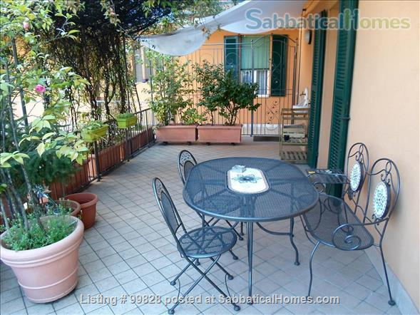 """Bergamo: cosy apartment with large terrace and wonderful view on """"città alta"""" Home Rental in Bergamo, Lombardia, Italy 1"""
