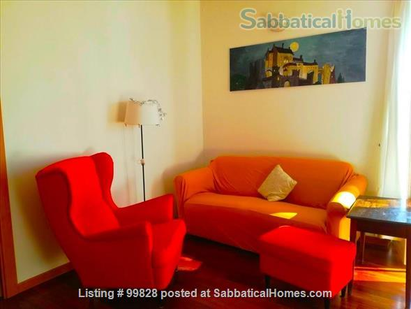 """Bergamo: cosy apartment with large terrace and wonderful view on """"città alta"""" Home Rental in Bergamo, Lombardia, Italy 0"""