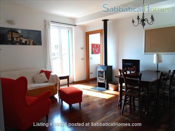 """Bergamo: cosy apartment with large terrace and wonderful view on """"città alta"""" Home Rental in Bergamo, Lombardia, Italy 2"""