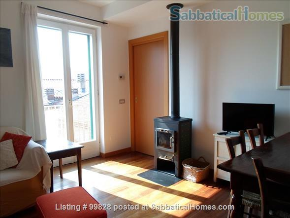 """Bergamo: cosy apartment with large terrace and wonderful view on """"città alta"""" Home Rental in Bergamo, Lombardia, Italy 3"""