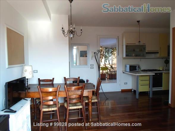 """Bergamo: cosy apartment with large terrace and wonderful view on """"città alta"""" Home Rental in Bergamo, Lombardia, Italy 4"""